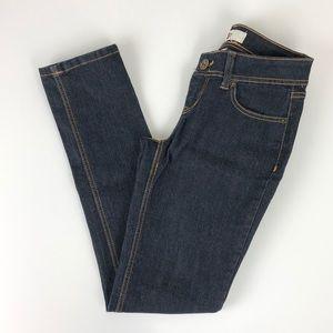 SO dark denim skinny jeans